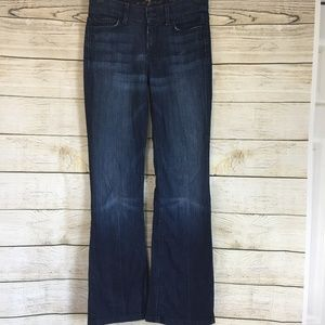 7 for all Mankind High Waist Boot Cut Jeans 26